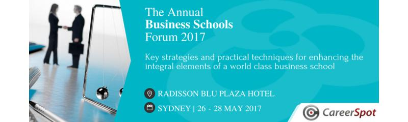 The Annual Business Schools Forum 2017