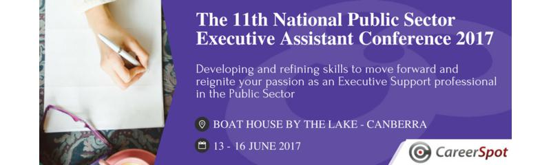 The 11th National Public Sector Executive Assistant Conference 2017