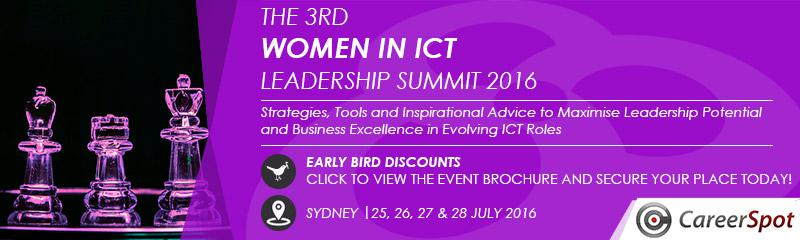 The 3rd Women in ICT Leadership Summit 2016