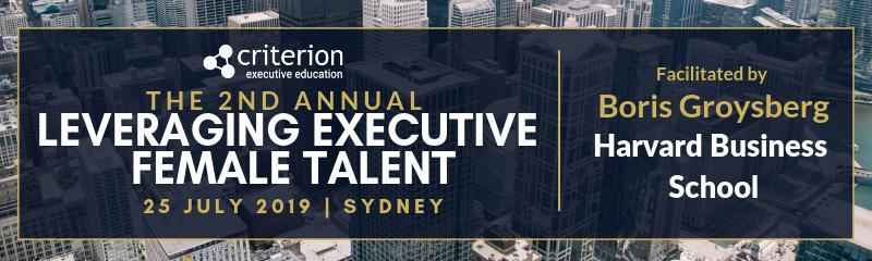 2nd Annual Leveraging Executive Female Talent Forum