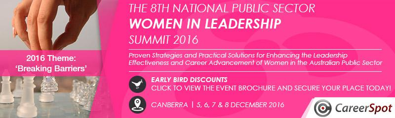The 8th National Public Sector Women in Leadership Summit 2016