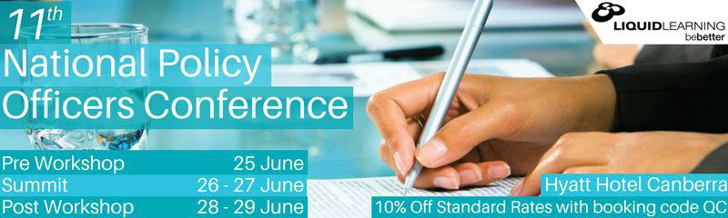 11th National Policy Officers Conference