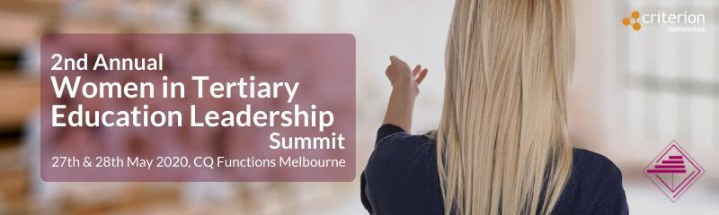 2nd Annual Women in Tertiary Education Leadership Summit
