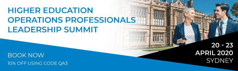 Higher Education Operations Professionals Leadership Summit