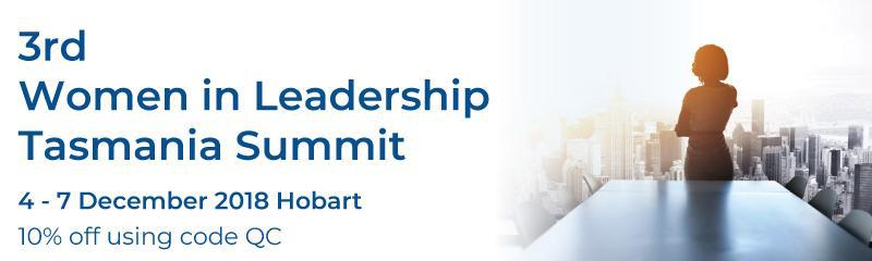 3rd Women in Leadership Tasmania Summit