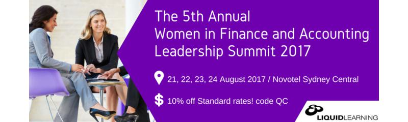 The 5th Annual Women in Finance and Accounting Leadership Summit 2017