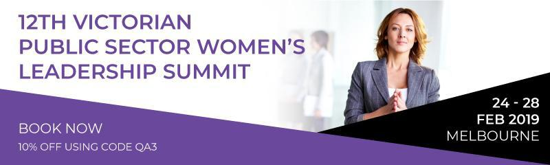 12th Victorian Public Sector Women's Leadership Summit