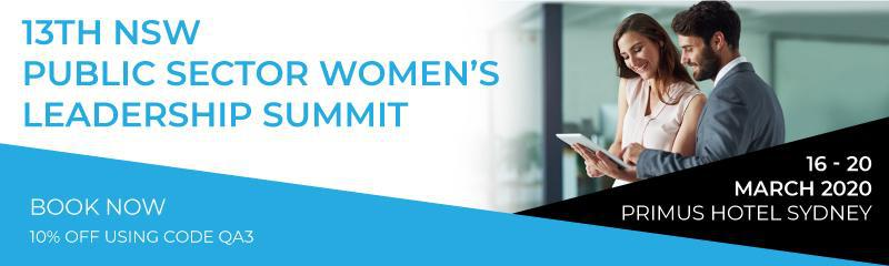13th NSW Public Sector Women's Leadership Summit