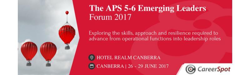 The APS 5-6 Emerging Leaders Forum 2017