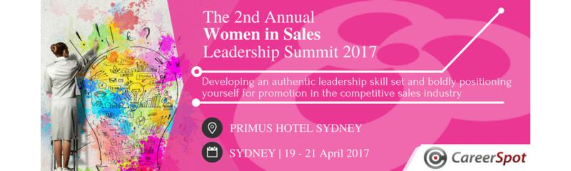 The 2nd Annual Women in Sales Leadership Summit 2017