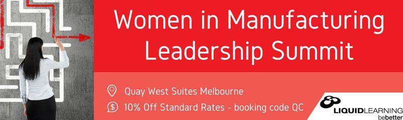 Women in Manufacturing Leadership Summit