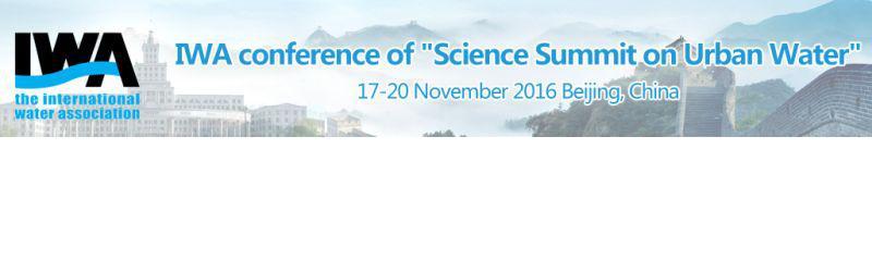 Science Summit on Urban Water