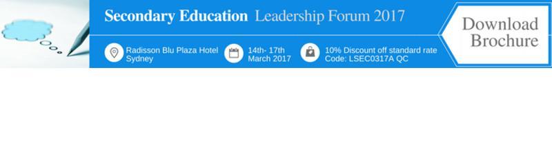 Secondary Education Leadership Forum 2017